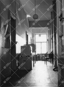 Lohm kesällä 1964. Käytävä päärakennuksessa.