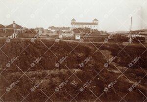 Iso-Heikkilää Turun linnan tuntumassa 1920-luvulla.