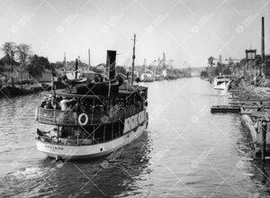Promootio 1960. Promootiopurjehdus Naantaliin saaristolaiva  Wellamolla 28. toukokuuta.