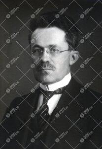 Johannes Gabriel Granö. Maantieteen professori 1.7.1926 -  1.3.1945, rehtori 15.1.1932 - 1.9.1934,