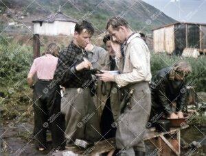 Kasvitieteen opiskelijat Kilpisjärvellä kesällä 1946.
