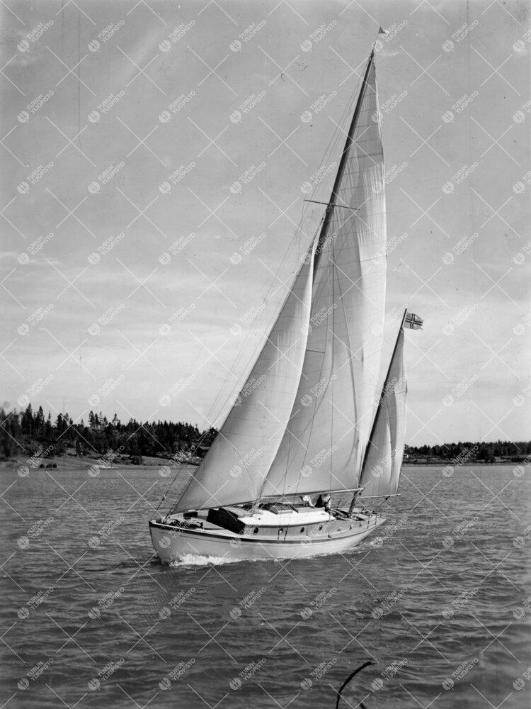 Yrjö Väisälän Johanna-vene kesällä 1935.