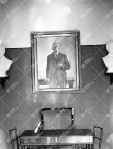 Eero Järnefeltin Ylioppilaskunnalle maalaama Johan Richard Danielson-Kalmarin (kansleri 1921-1926)