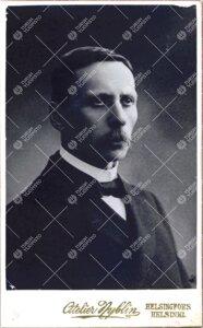 Valtioneuvos J(ohan) *R(ichard)* Danielson-Kalmari, (v:een 1906  Danielson), Turun Suomalaisen Yliop