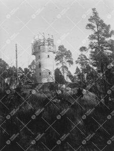 Tuorlan tähtitorni rakennettiin liukuvalumenetelmällä vuonna  1953.