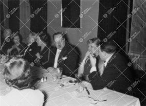 Turun Yliopiston vuosijuhla 28.2.1935. Juhlaillallinen ravintola  Itämeressä.