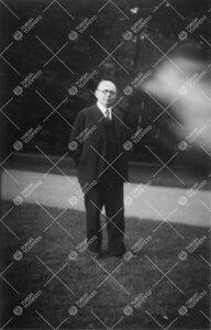 Saksan kielen vt. lehtori Arno Bussenius 1930-luvun alkupuolella.