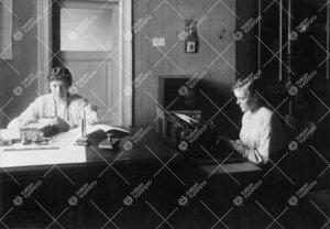 Turun Suomalaisen Yliopistoseuran ensimmäinen toimisto  (1918-1920) osoitteessa Kauppiaskatu 5.