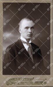 E. V. Pylkkänen. Maisteri, Turun Suomalaisen Yliopistoseuran  kiertävä asiamies 1919-1922.