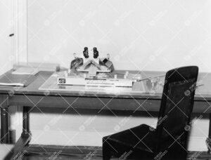 Stereoskooppi maantieteen laitoksen tiloissa Phoenixissa vuonna  1958.