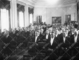 Lukuvuoden avajaiset 5. syyskuuta 1934 Phoenixin juhlasalissa.