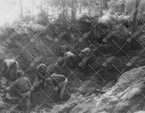 Tuorlan tunnelityömaa alkoi irtomaan poistolla syksyllä 1951.
