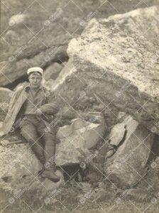 Dos. (kasvitiede) Lauri E. Kari Lapin retkellä 1930-luvulla.