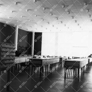 Pääkirjaston lukusali 1950-luvulla.
