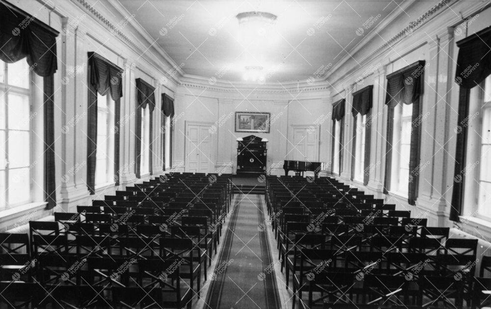 Phoenixin juhlasali 1940-luvulla.