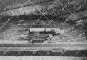 Kirjastotalon arkkitehtikilpailussa vuodelta 1946  (Samppalinnanmäkisuunnitelma) palkittiin kolme e