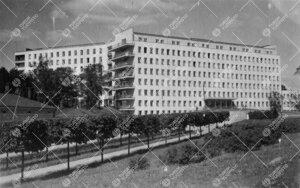 Turun Lääninsairaala, lääketieteellisen tiedekunnan  opetussairaala, 1940-luvulla.