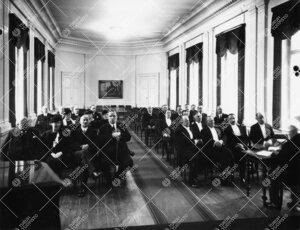 Kokous Phoenixin juhlasalissa v. 1937.