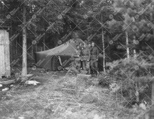 Tuorlaa rakennettaessa 1950-luvun alussa monet varusmiehet saivat  työkomennuksen Tuorlaan. Kuvassa