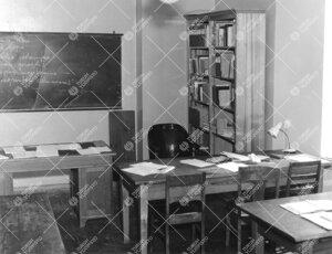 Lohm kesällä 1964. Työhuone.