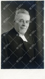 I. M. Tallgren. Rovasti, tuomiokapitulin asessori, vasta  perustetun Turun Suomalaisen Yliopistoseur