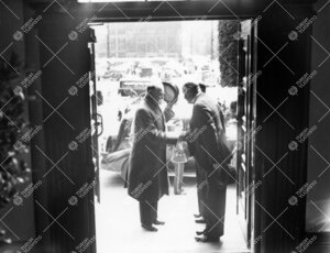 Presidentti Kyösti Kallion vierailu kesäyliopiston avajaisissa  4. kesäkuuta 1937.