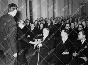 Professori Kaarlo Jäntereen jäähyväisluennolta 28. tammikuuta  1955.
