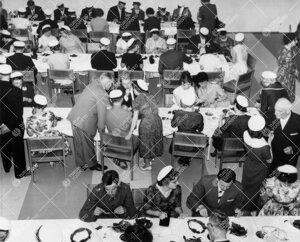Promootio 1960. Seppeleensitojaiset yliopiston aulassa 26.  toukokuuta. Yleiskuva.